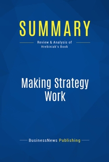 Making Strategy Work