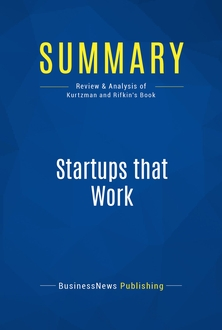 Startups that Work