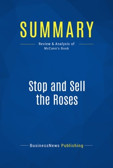 Stop and Sell the Roses