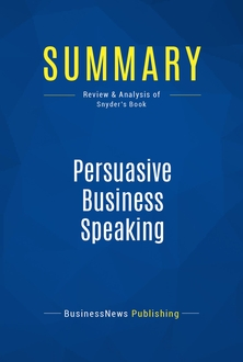 Persuasive Business Speaking