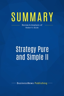 Strategy Pure and Simple II