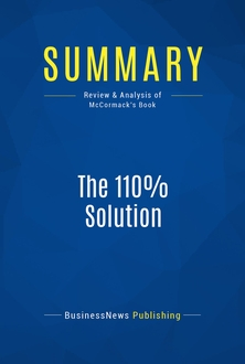 The 110% Solution