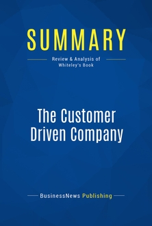The Customer Driven Company