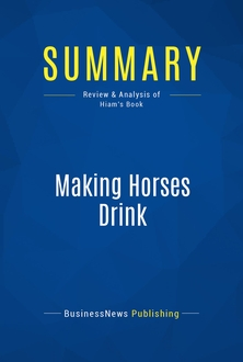 Making Horses Drink