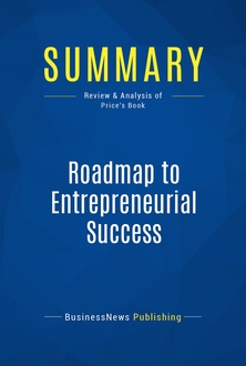 Roadmap to Entrepreneurial Success