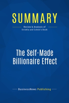 The Self-Made Billionaire Effect