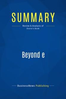 Beyond e
