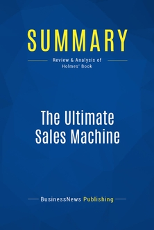 The Ultimate Sales Machine By Chet Holmes Pdf
