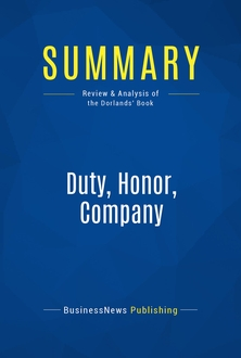 Duty, Honor, Company
