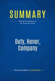 Duty, Honor, Company