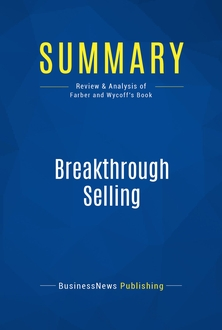 Breakthrough Selling
