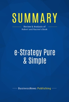 e-Strategy Pure & Simple