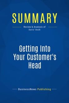 Getting Into Your Customer's Head