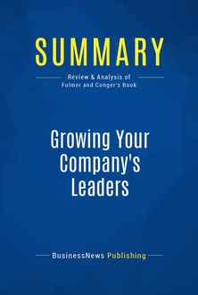 Growing Your Company's Leaders
