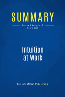 Intuition at Work
